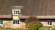 Stock Video Footage of THATCHED ROOF