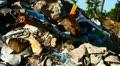 Urban illegal dump Footage