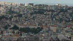 Nazareth view Stock Footage