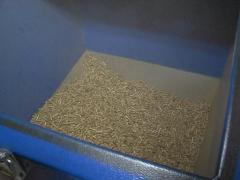 Boiler container granules Stock Footage