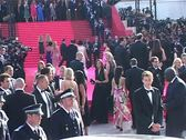 Cannes Film Festival Bai Ling Oceans 13 Stock Footage