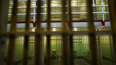 Prison Cell 06 HD Stock Footage