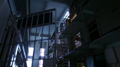 Prison Cells 03 HD Stock Footage