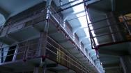 Prison Cells 04 HD Stock Footage