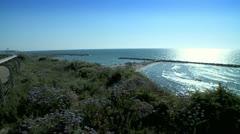 Ocean View Stock Footage