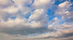 Timelapse of cloudy sky Stock Footage
