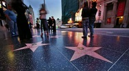 Stock Video Footage of Hollywood stars