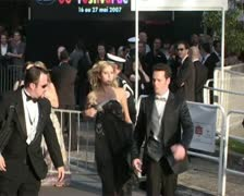 CFF Ethan Hawke arriving late Stock Footage