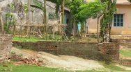 A Bangladeshi Laborer Takes Crops to Market Stock Footage