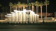 Timelapse Wilshire Streets Museum Stock Footage