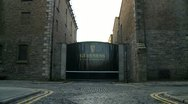 Stock Video Footage of Guinness Factory Gate, Dublin