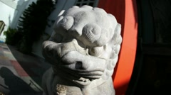 Mann's Chinese Theater Statue 01 HD - stock footage