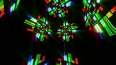 Virtual music box 1 Stock Footage