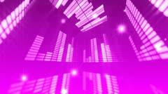 Music Studio virtual wall 9 Stock Footage