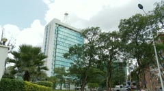 Stock Video Footage of Modern buildings in Kigali, Rwanda