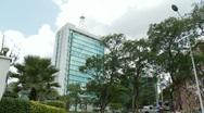 Modern buildings in Kigali, Rwanda Stock Footage