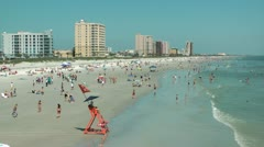 Jacksonville Beach Florida - stock footage