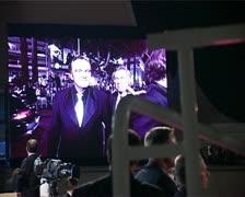 CFF Tarantino & cast screens Stock Footage