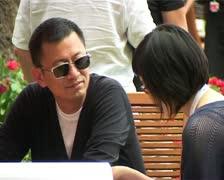 CFF Wong Kar Wai CU Stock Footage