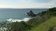 Mendocino, Northern California coast Stock Footage