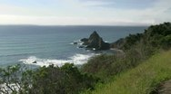 Stock Video Footage of Mendocino, Northern California coast
