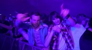 People partying Stock Footage