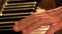 Playing on the Piano 1 Stock Footage