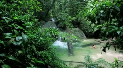 Mossman Gorge, Queensland, Australia Stock Footage