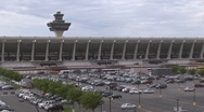 Dulles International Airport Stock Footage