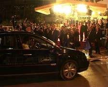 CFF Tilda Swinton premiere Stock Footage