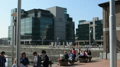IFSC Dublin - stock footage
