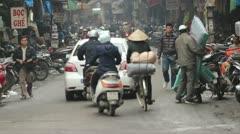 Vietnamese street Stock Footage