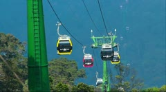 Cableway Stock Footage