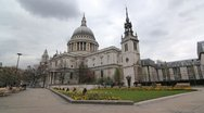 St Pauls Cathedral. Stock Footage