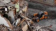 Stock footage House destruction Stock Footage