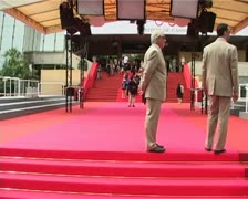 CiaV red carpet TL3 Stock Footage