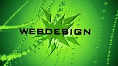 Webdesign-Seo-Webhosting Stock Footage