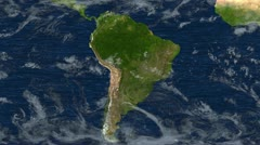 Crush of South America Stock Footage
