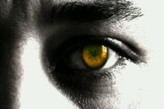 Eyeball Change Color Stock Footage