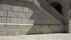 Jerusalem - Cupola of Maria Magdalena Orthodox church Stock Footage