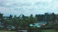 Stock Video Footage of Tropical Resort Time Lapse