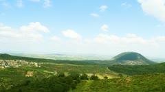 Mount Tabor , Israel Stock Footage