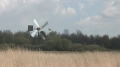 small windmill - stock footage