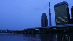 Tokyo Skytree Stock Footage