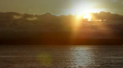 Puget Sound Sunset -- 1080 Stock Footage