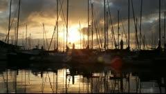 San Diego Sunrise - stock footage