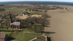 Uranienborg Aerial Stock Footage