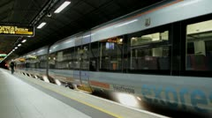 London-Heathrow Express Stock Footage