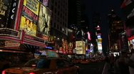 Time Squares New-York Stock Footage
