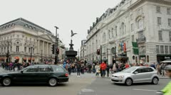 Piccadilly Circus-LONDON Stock Footage